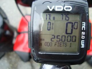 25.000 km/ 15.000 miles