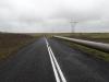 Eerste dag op de fiets; langs de pijplijn/ first day on the bikes; following the pipeline