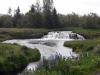 Eerste van vele watervallen/ first of many waterfalls