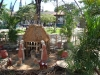 Tropische kerststal/ tropical crib