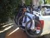 Fietsen mee/ brought the bikes
