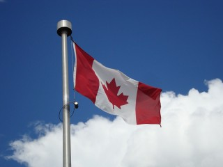 Vlag/ flag Canada