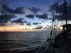 Avond op zee/ nightfall at sea