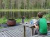 Eten met uitzicht/ dinner with a view