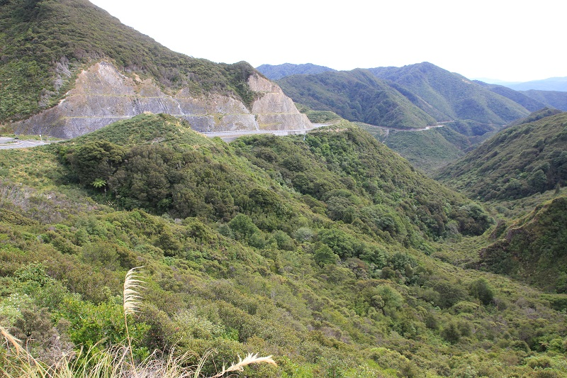 Lange klim/ long climb